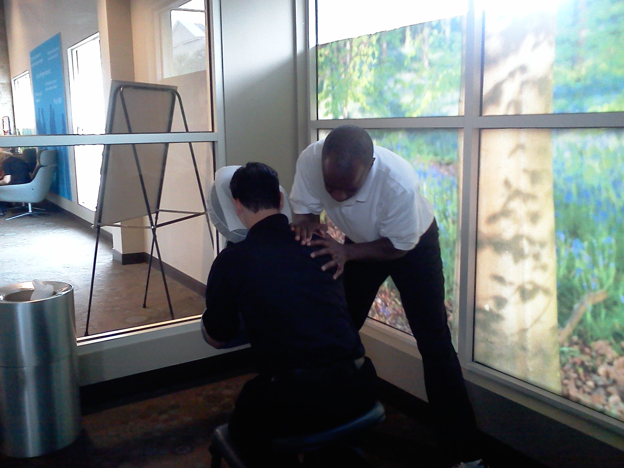 Orlando-Winter Park, Fl Mobile chair Massage - Male Therapist - Relax and Enjoy